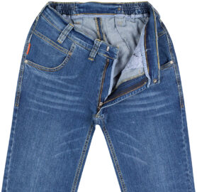 Stretch-Jeans Regular Fit - Rollitex - Meditex.nl